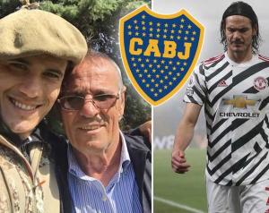 Cavani apja szerint fia boldogtalan és távozna