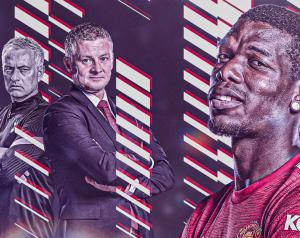 Pogba: Mourinho a United játékosok ellen fordult, Ole más
