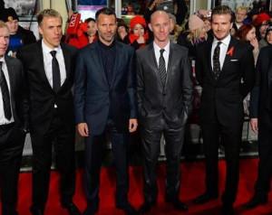 Beckham irigykedik a régi cimborákra