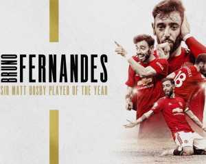 A szurkolók Bruno Fernandest választották a legjobbnak