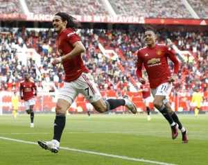 Cavani találata PL rekordot jelent a Unitednek