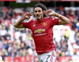 Cavani: Büszkén viselem a United mezét