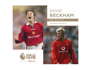Beckham is bekerült a Hírességek Csarnokába
