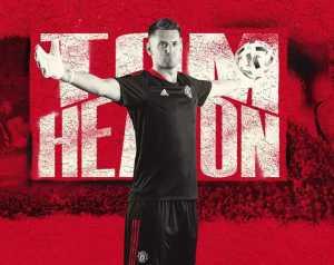 Hivatalos: Heaton visszatért a Unitedhez