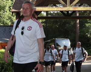 A United edzőtáborának résztvevői