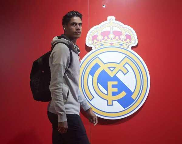 Varane búcsúja a Real Madridtól
