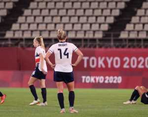 Női játékosaink az Olimpián