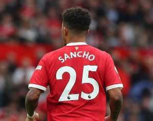 Jadon Sancho debütált