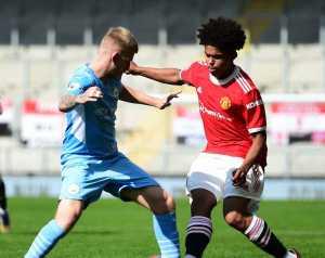 Manchester United U23 - Manchester City U23 2-4