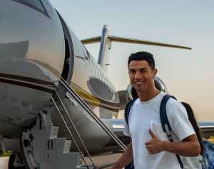Ronaldo megérkezett Manchesterbe