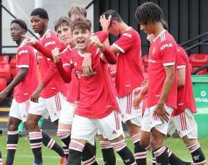 Manchester United U18 - Stoke City U18 4-2