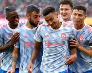 United játékosok az angol válogatottban